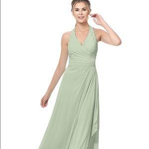 Dusty Sage Bridesmaid Dress - Azazie